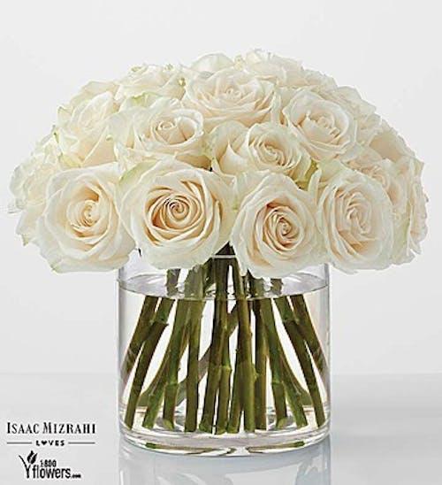 Classic White Rose by Isaac Mizrahi