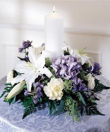 Imported Cut Hydrangias & Lilies