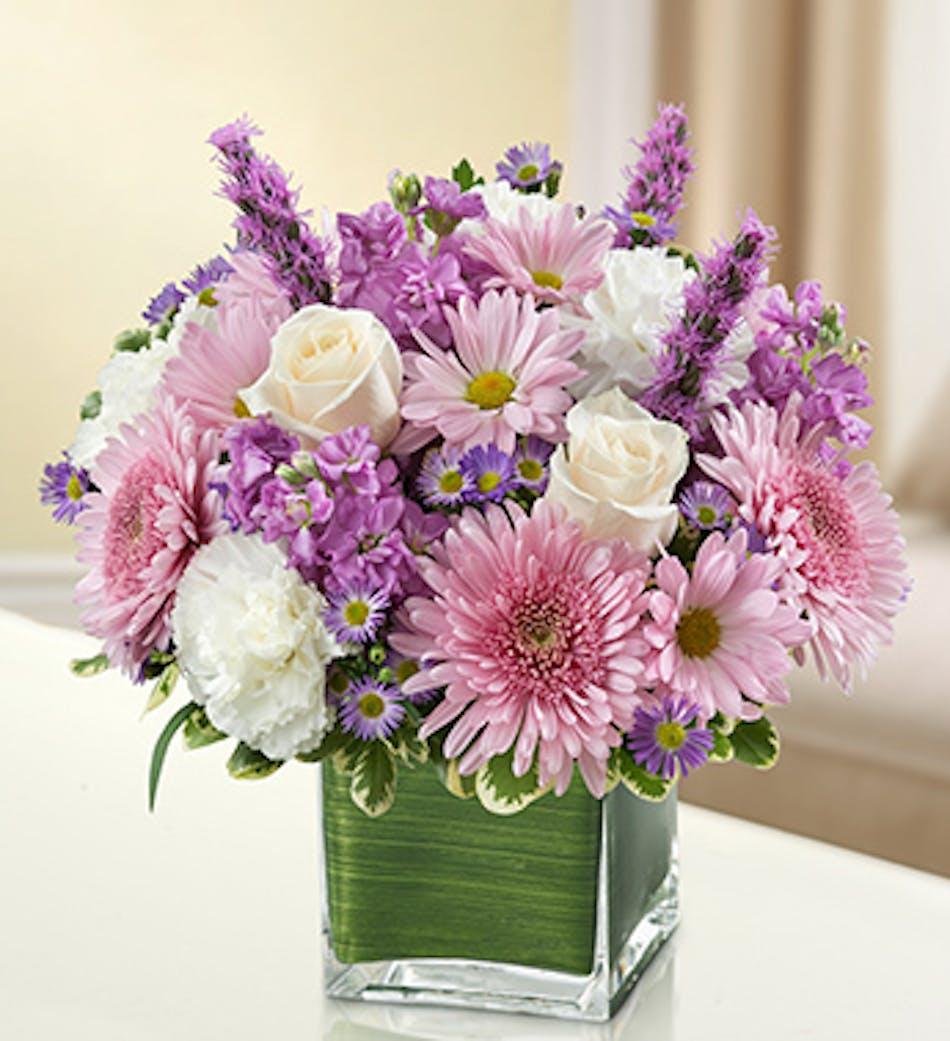Lavender And White Healing Tears Kansas City Florist Flower