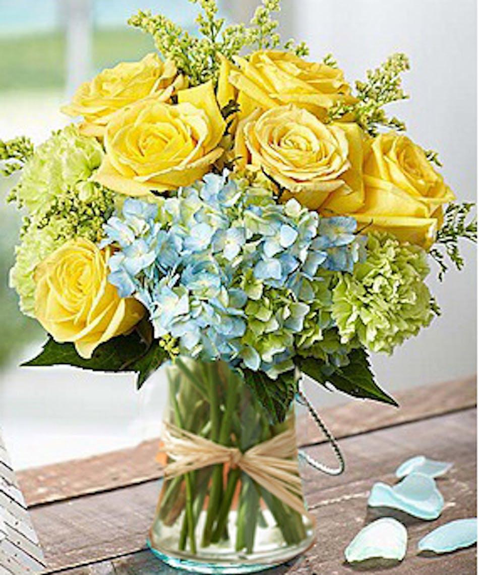 Monet\'s Garden Vase - Kansas City Florist - Flower Delivery Kansas City