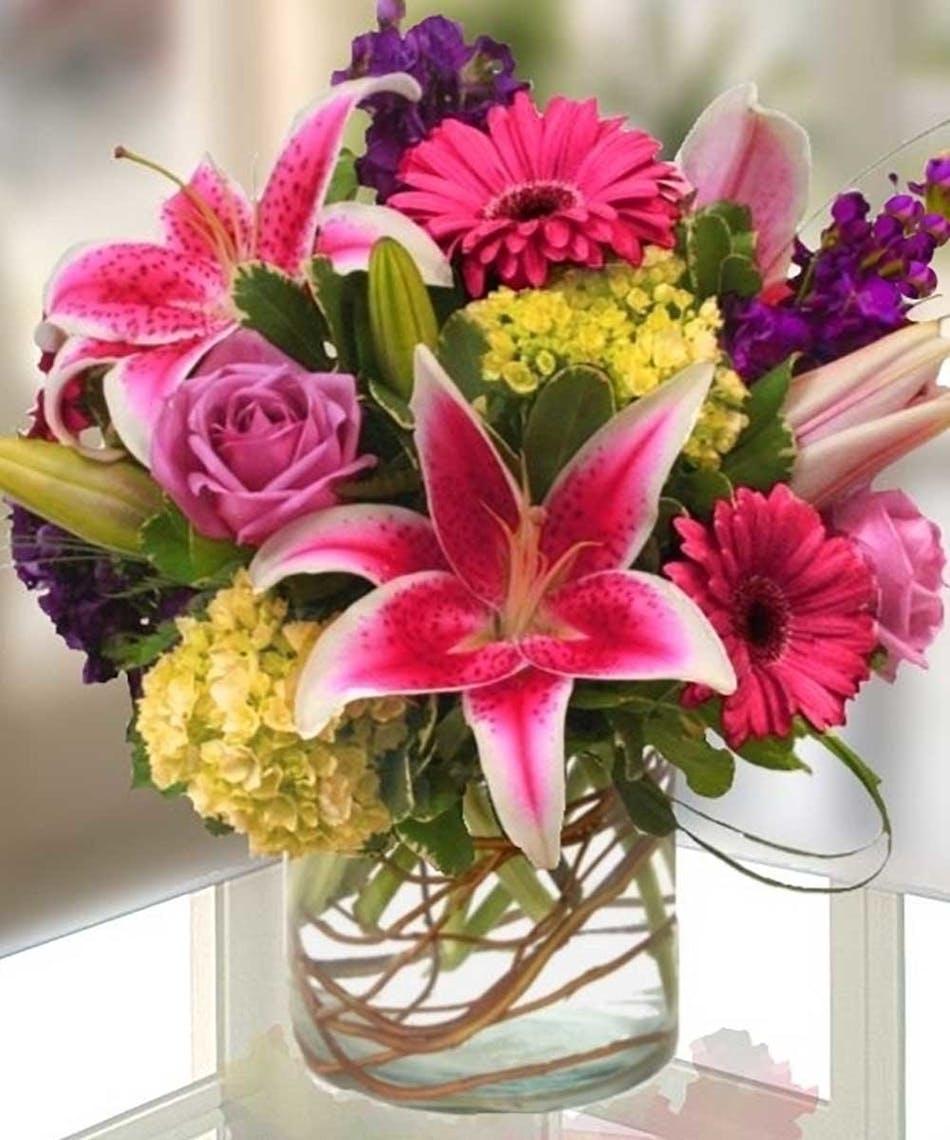 Garden Favorites Bouquet Kansas City Florist Flower Delivery Kansas City
