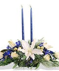 Blue and White Centerpiece