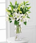 Magical White Lilies