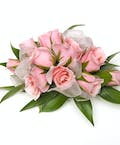 Traditional Pink Rose Corsage