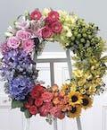 The Garden Wreath on Standing Easle