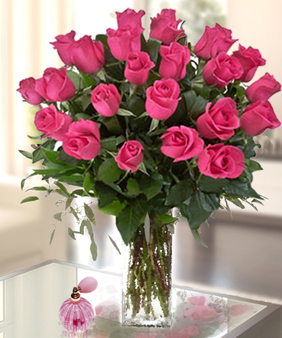 Hot pink roses kansas city florist flower delivery kansas city hot pink roses kansas city florist flower delivery kansas city mightylinksfo